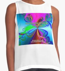 The Sharing Of My Art Is My Gift Sleeveless Top