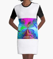 The Sharing Of My Art Is My Gift Graphic T-Shirt Dress