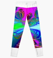 The Sharing Of My Art Is My Gift Leggings