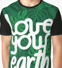 Love your Earth Graphic T-Shirt