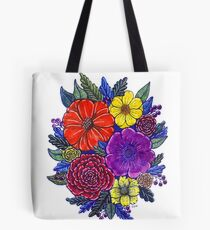 Floral Passion Tote Bag