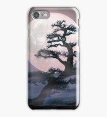 Moonlight on Bonsai Elm iPhone Case/Skin