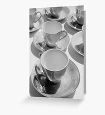 Tea cups number 2 Greeting Card