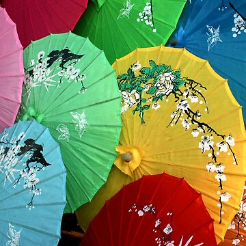 Chinese Sunshades by JohnDalkin