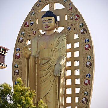 Buddha Statue at Dehradun. by sunilbhar