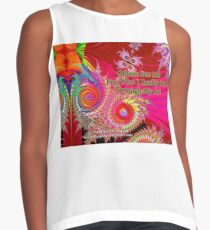 Others See Me For Who I Really Am Through My Art Sleeveless Top