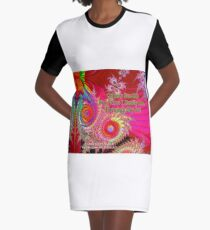 Others See Me For Who I Really Am Through My Art Graphic T-Shirt Dress