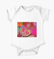 Others See Me For Who I Really Am Through My Art Short Sleeve Baby One-Piece