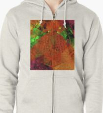 Busy Busy Busy Zipped Hoodie