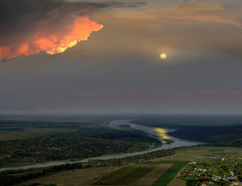 Dniester River by Igor Zenin