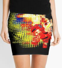 The Hawking Effect Mini Skirt