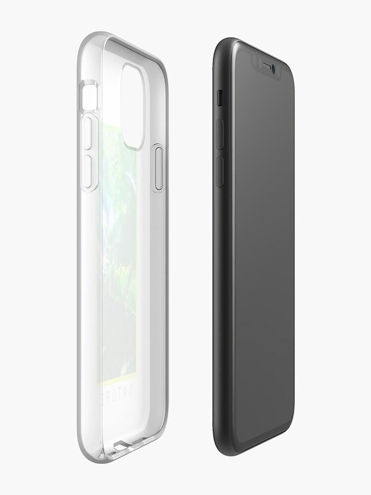 Coque iPhone «Espace pastel esthétique», par warddt