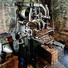 Industrial Gear Cutting Machine by Susan Savad
