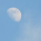 Daytime Moon by pat oubridge