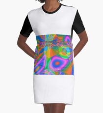 Gifts Of Love Are Heartfelt Graphic T-Shirt Dress