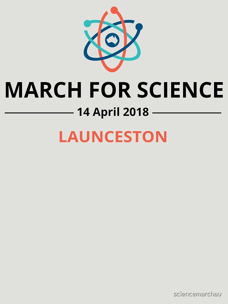 March for Science Launceston logo – dark by sciencemarchau
