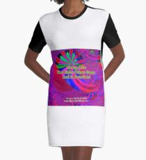 Giving Gifts That Make Others Happy And Is Beneficial Graphic T-Shirt Dress