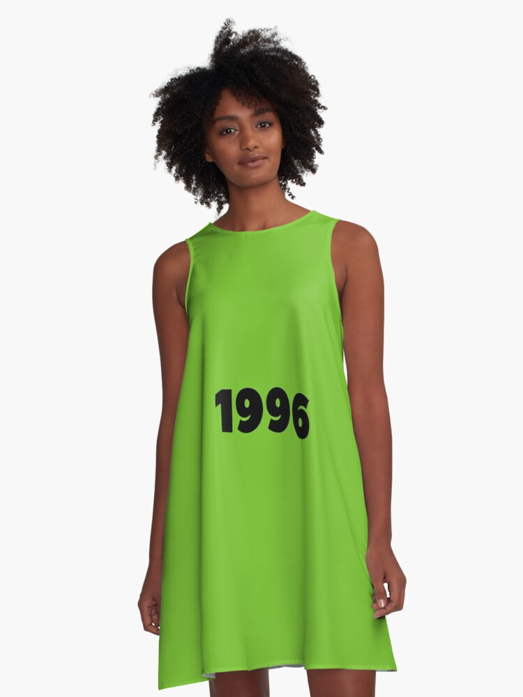'1996 Birthday Born In 1996 22nd Birthday Gift Made In 1996 Birthday Poster  Birthday Gift Her Birthday Gift Him Happy Birthday Gift ' A-Line Dress by