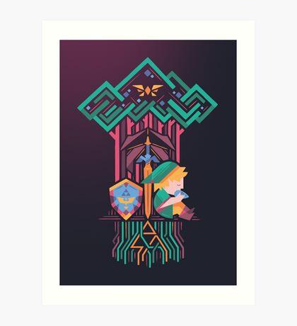 Guardian's link Art Print