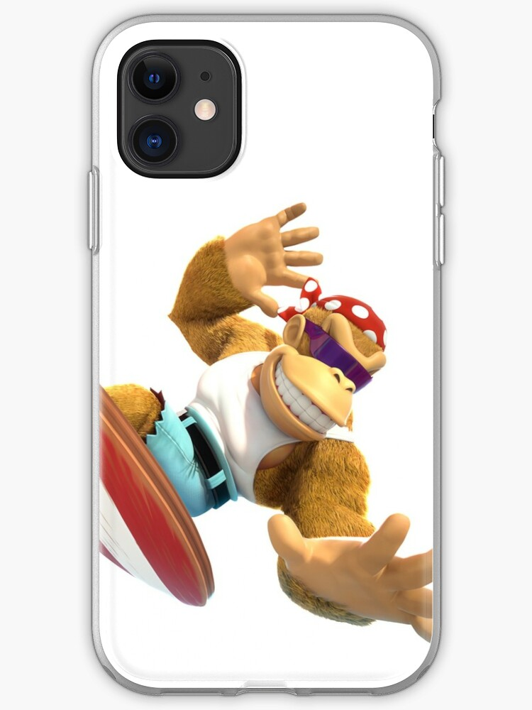 Donkey Kong attack country iphone case