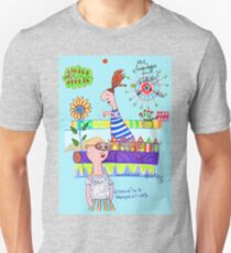 changing glasses, changing perspectives Unisex T-Shirt