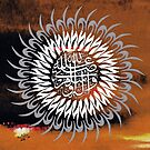 Durud Pak Darood Pak Calligraphy Painting by HAMID IQBAL KHAN
