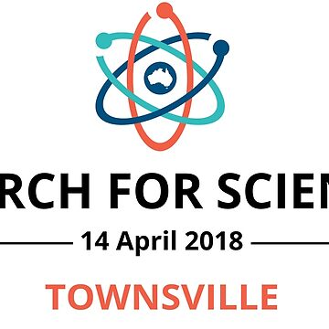 March for Science Townsville logo - dark by sciencemarchau