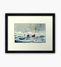Rescue! Framed Print