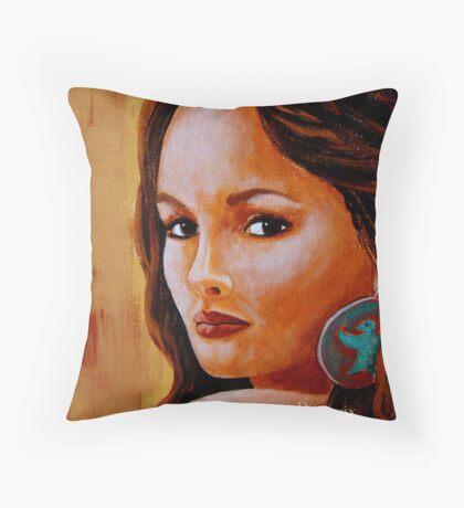 Phoenix- Detail Study Throw Pillow