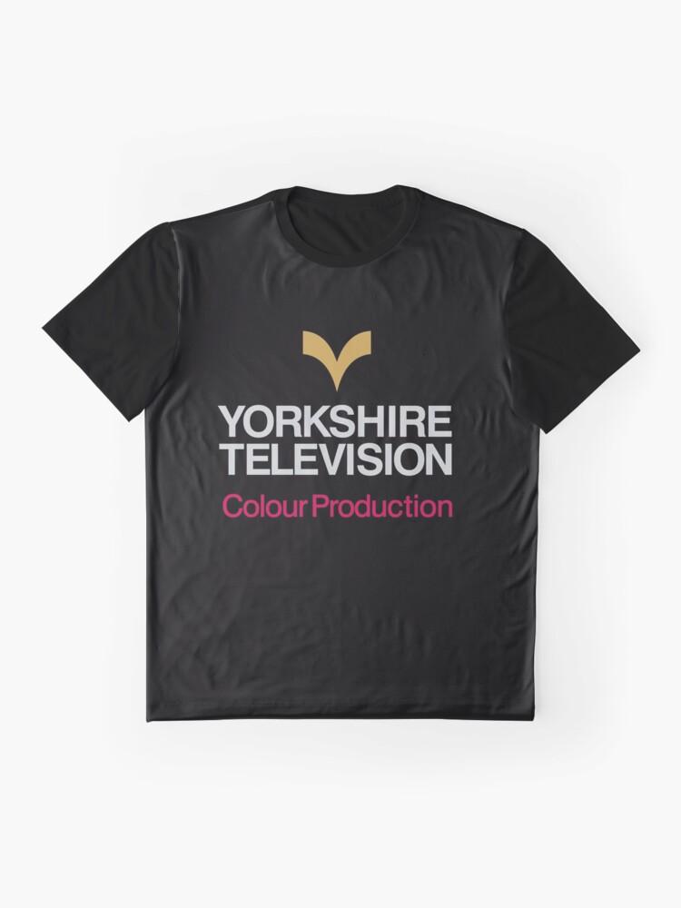 Vista alternativa de Camiseta gráfica Logo de Yorkshire TV