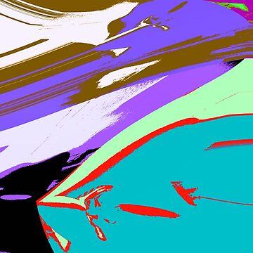 BLOOD MISSILE PURPLE SKY by frauenbrauen