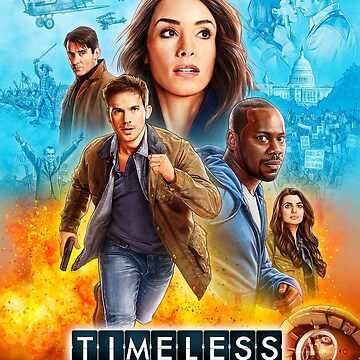 NBC's Timeless Season 2 Poster by SaveAgentCarter