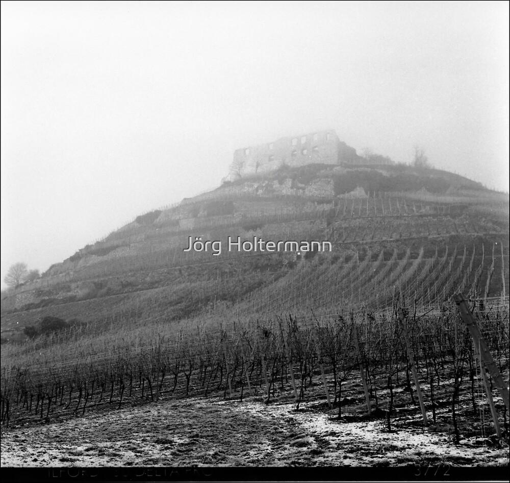 Castle in the fog by Jörg Holtermann