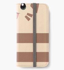 Furret Face Design iPhone Wallet/Case/Skin