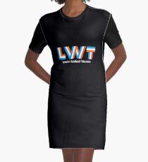 Retro LWT logo, ITV region Graphic T-Shirt Dress