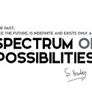 spectrum of possibilities - stephen hawking by razvandrc