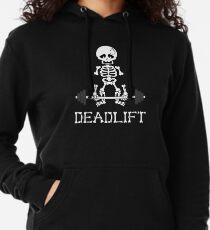 Kreuzheben Gym Skeleton Leichter Hoodie