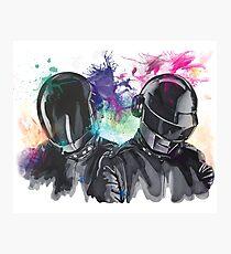 Daft Punk Portrait Photographic Print
