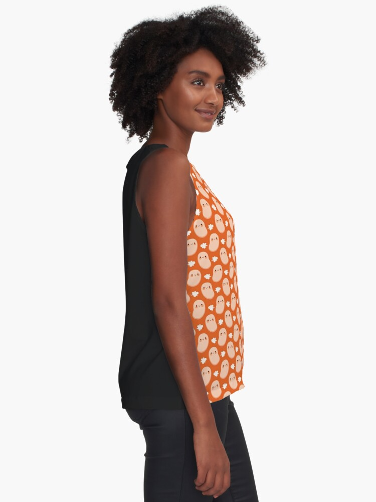 Alternate view of Baked beans farting Sleeveless Top