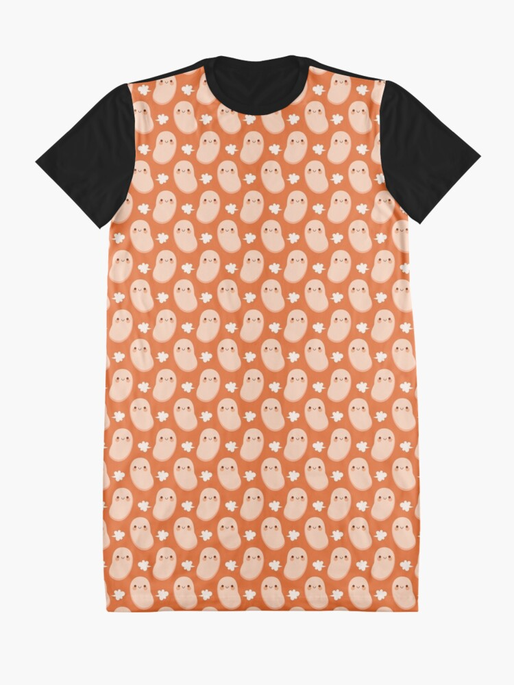 Alternate view of Baked beans farting Graphic T-Shirt Dress