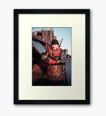Oil-Expert Framed Print