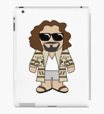 The Dude for all Dude Abiding Dudes iPad Case/Skin