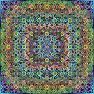 Organic Geometric Pattern 2 by omsah