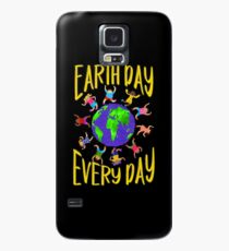 Earth Day Every Day, Save The Planet For Our Children Cute Earthy Hippie #earthday Case/Skin for Samsung Galaxy