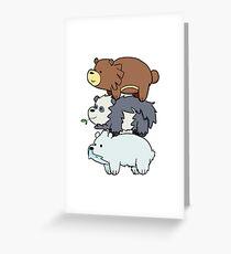 Pokebear Greeting Card