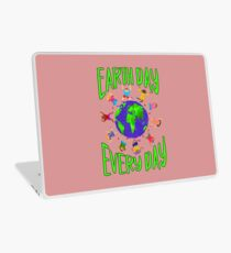 Earth Day Every Day, Save The Planet For Our Children Cute Earthy Hippie #earthday Laptop Skin