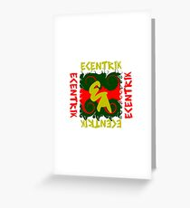 Fanned Flames Greeting Card