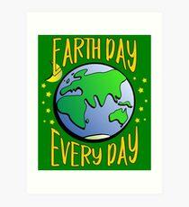 Don't Be Trashy, Save The Earth,  Help End Plastic Pollution. #earthday Art Print