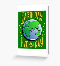 Don't Be Trashy, Save The Earth,  Help End Plastic Pollution. #earthday Greeting Card