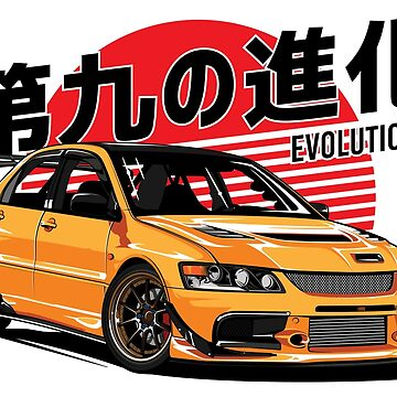 Evo 9 by hafisdesign